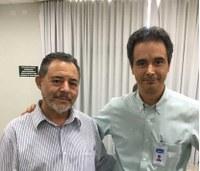 Presidente da Câmara e vereadores participam de Reunião e levam demandas da Copasa